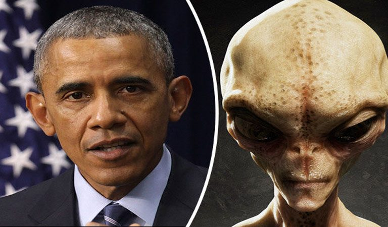 Obama's Last Comment For UFOs And Aliens Just Before Leaving His Office