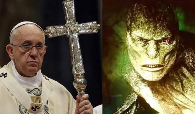 Pope Francis Clarify The Truth About REPTILIAN Devil