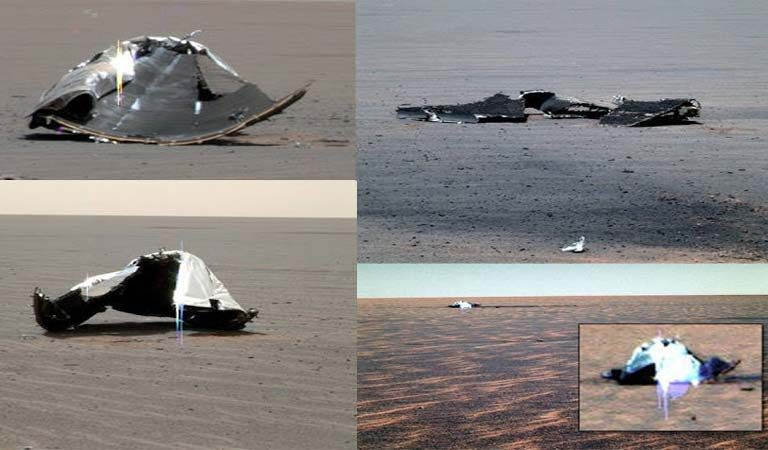 Opportunity Images Show ALIEN Presence on Mars?