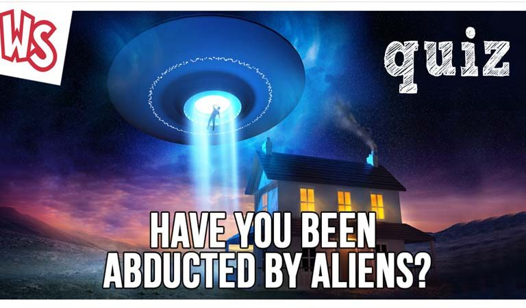 QUIZ: Have You Ever Been Abducted by Aliens?