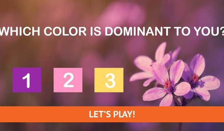 TEST: The Most Beautiful Test Will Determine Your Dominant Spiritual Color?