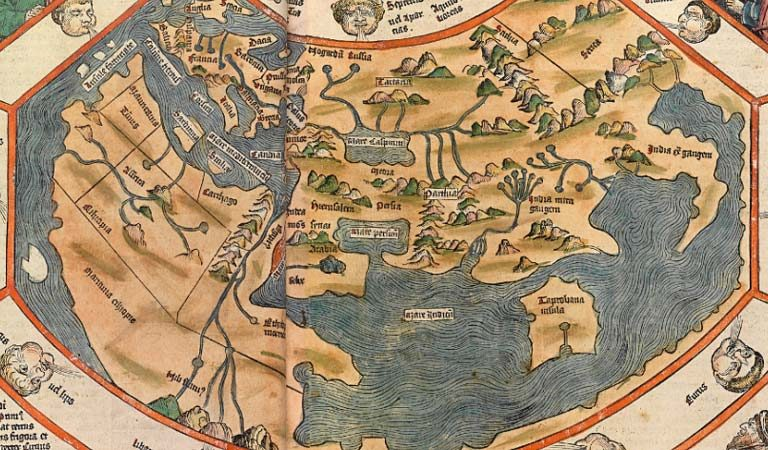 Here's 9 Ancient maps that SHOULD NOT exist