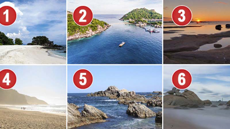 TEST. Which Beach Would You Choose For Your Vacation? Your ...