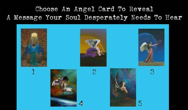 QUIZ: Choose An Angel Card To Reveal A Message Your Soul Desperately Needs To Hear