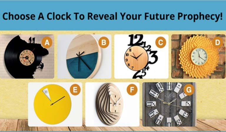 TEST: Choose A Clock To Reveal Your Future Prophecy!