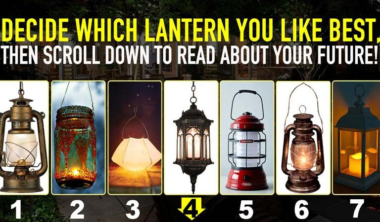 QUIZ: Choose A Lantern To Reveal The Path Of Your Future!