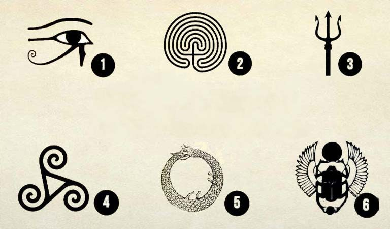 TEST: Choose One Symbol and Discover What You Need at the Moment