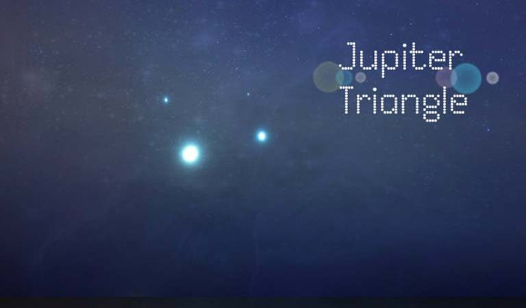 How Can You See the Rare Celestial Event 'Jupiter Triangle' this Month