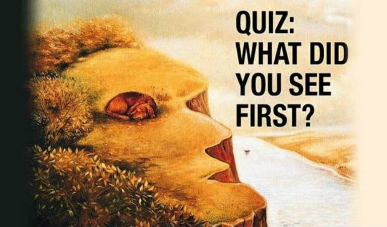 What Did You See First? This Test Can Reveal What You're Searching For In Life