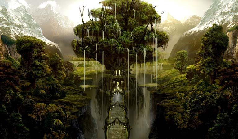 Yggdrasil, The Legendary World Tree Of Norse Mythology