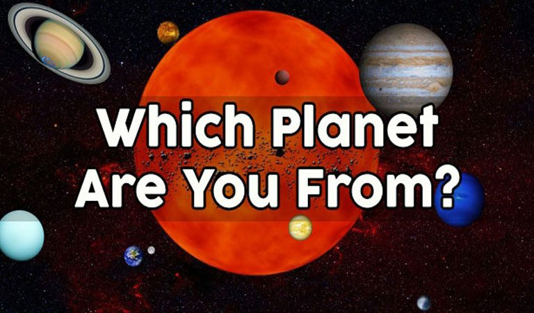 QUIZ: Which Planet Are You REALLY From?