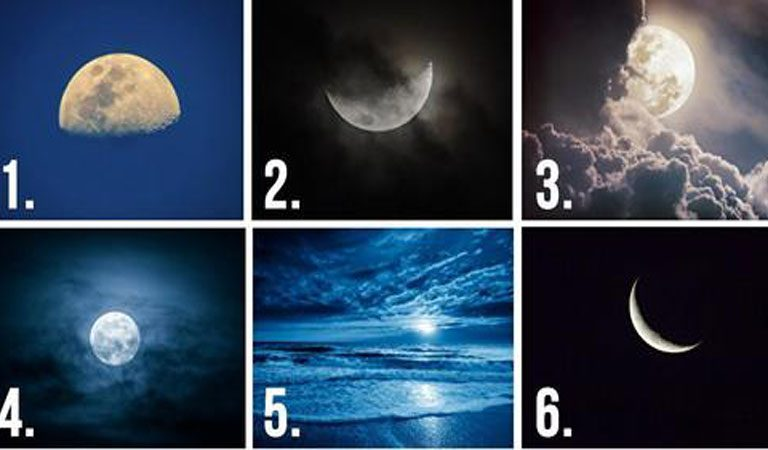 TEST: Choose A Moon, And It Will Reveal Your Hidden Thoughts