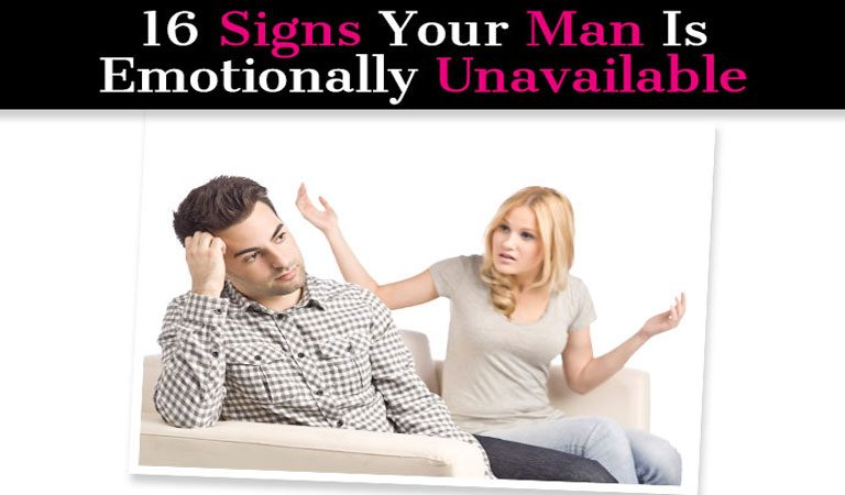 Here Are 16 Signs He's Just Too Emotionally Unavailable For A Relationship